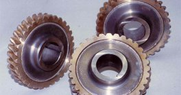 Electron beam welded drive wheels for worm gears