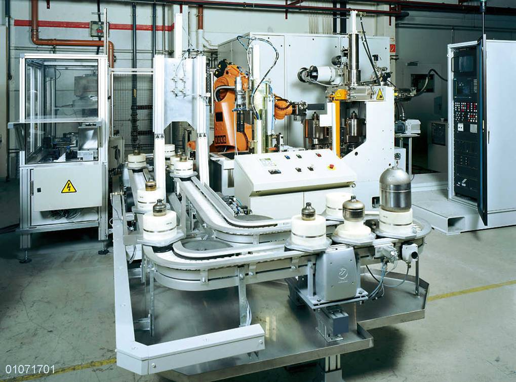Production Machines Ptr Strahltechnik